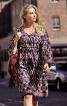 Сукня приталеного крою зі шнуром-зав'язкою - фото 1