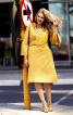Сукня А-силуету з пластроном - фото 1
