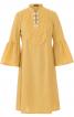 Сукня А-силуету з пластроном - фото 2