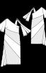 Сукня приталеного крою з клином годе - фото 3