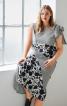 Сукня приталеного крою з клином годе - фото 1