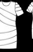 Сукня міні з драпіровками - фото 3