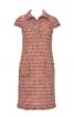 Сукня прямого крою із коміром поло - фото 2