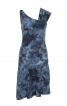 Сукня з асиметричним вирізом горловини - фото 2