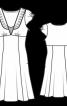 Сукня силуету ампір з глибоким V-подібним вирізом горловини - фото 3