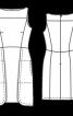 Сукня-футляр з вирізом горловини човником - фото 3