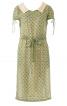 Сукня приталеного силуету з відкладним коміром - фото 2