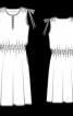 Сукня з глибоким розрізом на ліфі - фото 3