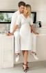 Сукня з V-подібним вирізом горловини - фото 1
