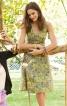 Сукня приталена з фігурним поясом - фото 1