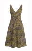 Сукня приталена з фігурним поясом - фото 2