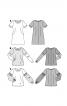 Блузка комбінована приталеного силуету - фото 5