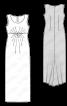 Сукня відрізна силуету ампір - фото 3