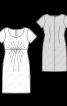 Сукня коктейльна силуету ампір - фото 3
