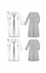 Сукня трикотажна силуету ампір зі складками і драпіровками - фото 4