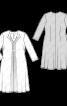 Сукня трикотажна силуету ампір зі складками і драпіровками - фото 3