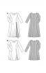 Сукня зі складкою-розрізом на спідниці - фото 4