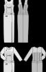 Сукня максі з глибоким декольте на спинці - фото 3