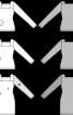 Пуловер довгий із квадратним вирізом горловини - фото 3