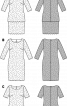 Сукня коктейльна з ефектом багатошаровості - фото 3