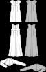 Сукня літня розкльошеного силуету - фото 3