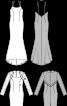 Сукня коктейльна з ефектом болеро - фото 3