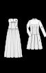 Сукня коктейльна з мереживним верхом - фото 3