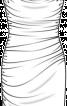 Сукня приталена з боковими зборками - фото 3