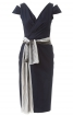 Сукня з V-подібними вирізами горловини - фото 2