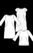 Сукня мереживна приталеного силуету - фото 3