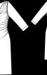 Сукня з хвилеподібним вирізом горловини - фото 3