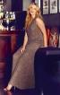 Сукня з імітацією міні-шлейфу - фото 1