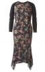 Сукня приталена з рукавами реглан - фото 2
