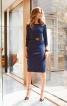 Сукня-футляр з прямокутним вирізом горловини - фото 1