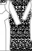 Сукня-футляр з прямокутним вирізом горловини - фото 3