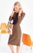 Сукня футляр відрізна по талії - фото 1