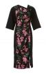 Сукня приталена з асиметричним вирізом горловини - фото 2