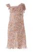 Сукня приталеного крою з ефектом двошаровості - фото 2