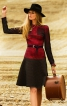 Сукня зі спідницею на кокетці - фото 1
