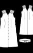 Сукня із наскрізною застібкою і ременем - фото 3