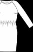 Сукня з рукавами реглан - фото 3