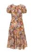 Сукня приталеного крою з вирізом-краплинкою - фото 2