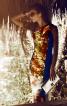 Сукня приталеного силуету з асиметричним вирізом горловини - фото 1