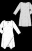 Сукня з рукавами 7/8 та ефектом запаху - фото 3