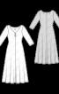 Сукня максі трикотажна розкльошеного силуету - фото 3