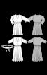 Сукня шовкова з пишною спідницею - фото 3