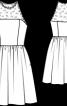 Сукня з американською проймою - фото 3