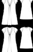 Сукня літня розкльошеного крою - фото 3