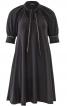 Сукня А-силуету з пишними рукавами реглан - фото 2