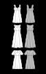 Сукня силуету ампір з короткими рукавами - фото 3